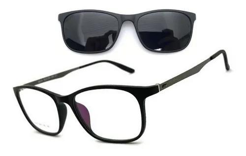 Armação óculos grau solar f