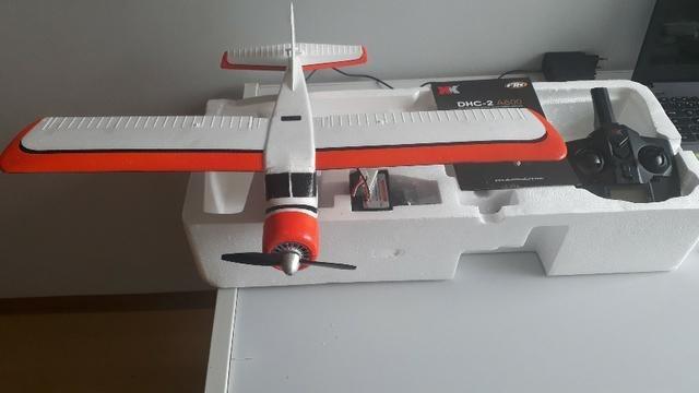 Avião aeromodelo xk a600 kit lacrado (completo, c/