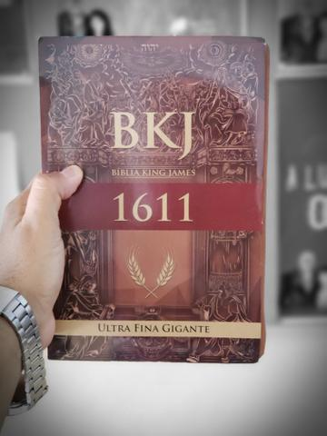 Bíblia king james letra ultra gigante