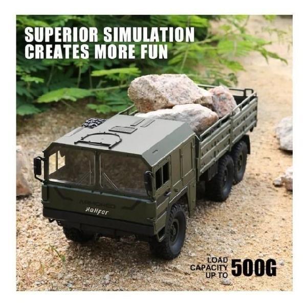 Caminhão militar controle remoto *