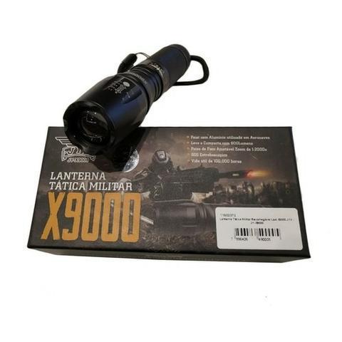 Frete Grátis Lanterna Tática Militar X900 Original Bateria