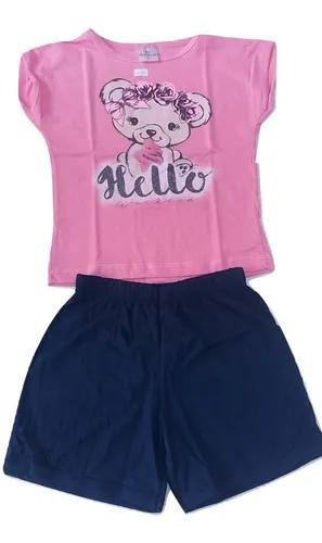 Kit 10 conjuntos infantil bebê menina roupa criança