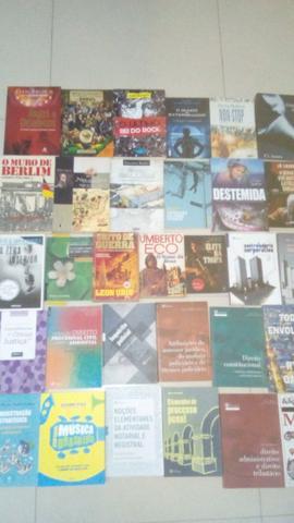 Livros diversos aceito proposta. avulso ou todos