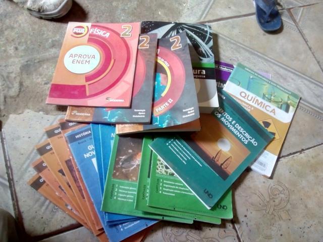 Livros física e literatura