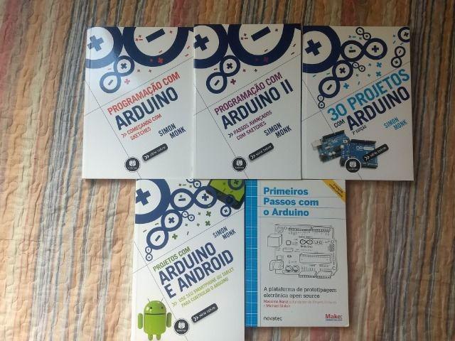 Livros sobre arduino