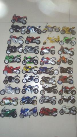 Motos coleção. aceito proposta