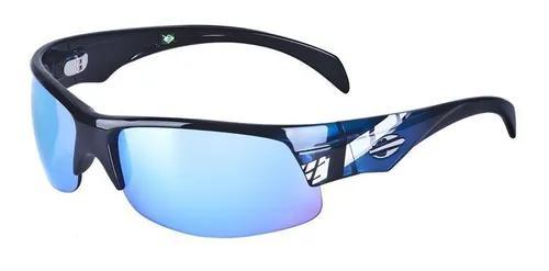 Oculos sol mormaii street air mx 35002112 azul translucido