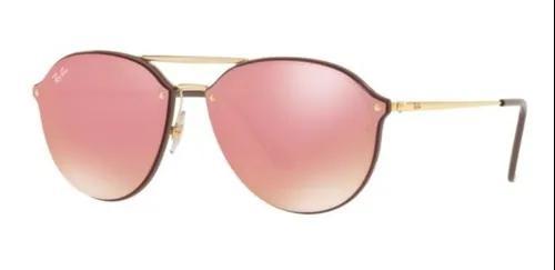 Oculos sol ray ban blaze doublebridge rb4292n 6327e4 marrom