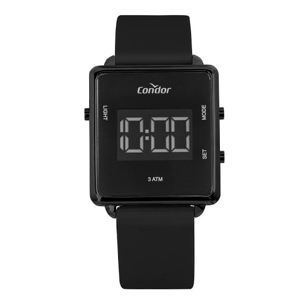 Relógio condor feminino digital trendy preto cobjf156ag/2p