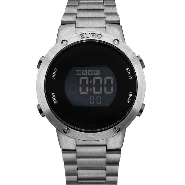 Relógio feminino fashion fit eubj3279ae/4k - prata