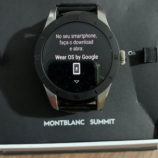 Relógio montblanc original
