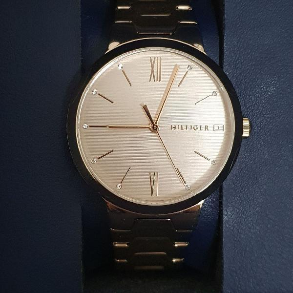 Relógio tommy hilfiger original (rose gold)