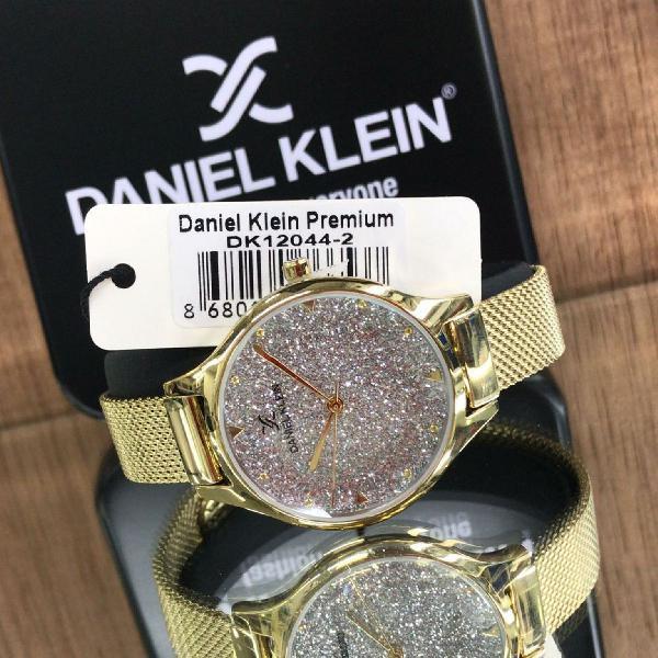 Relógio feminino originais daniel klein