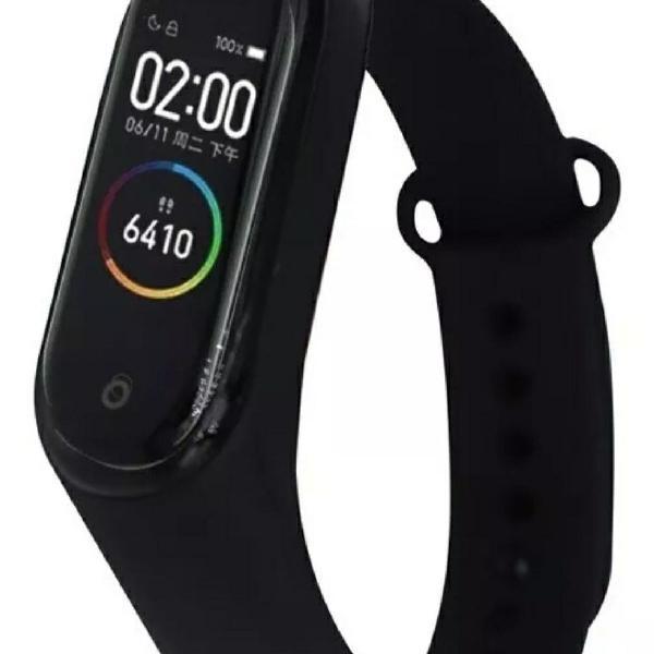 Relógio inteligente preto. atenção frete grátis para