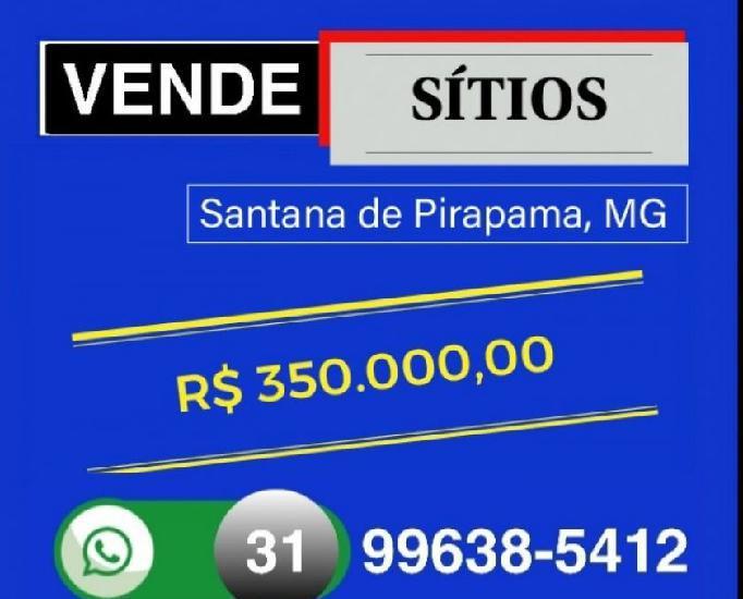 Vende Sítios, Região Santana de Pirapama, MG