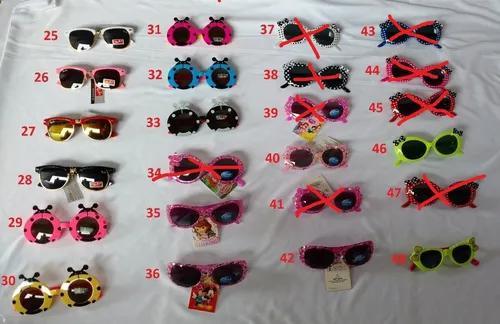 Culos de sol infantil,proteção uv400 varios modelos +