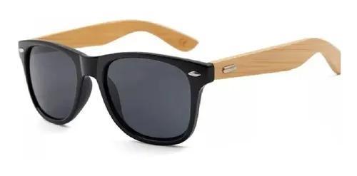 Culos de sol reto madeira bambo masculino promoção