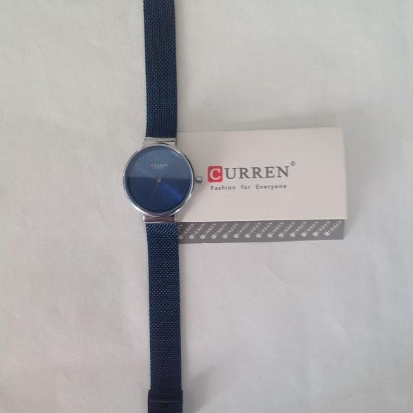 Relógio feminino curren azul