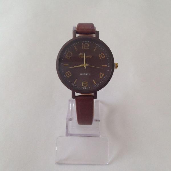 Relógio feminino marrom