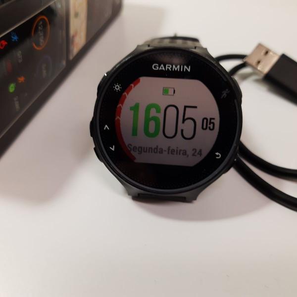 Relógio garmin 235- projeto fitness: agora vai!
