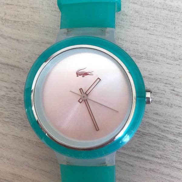 Relógio lacoste verde