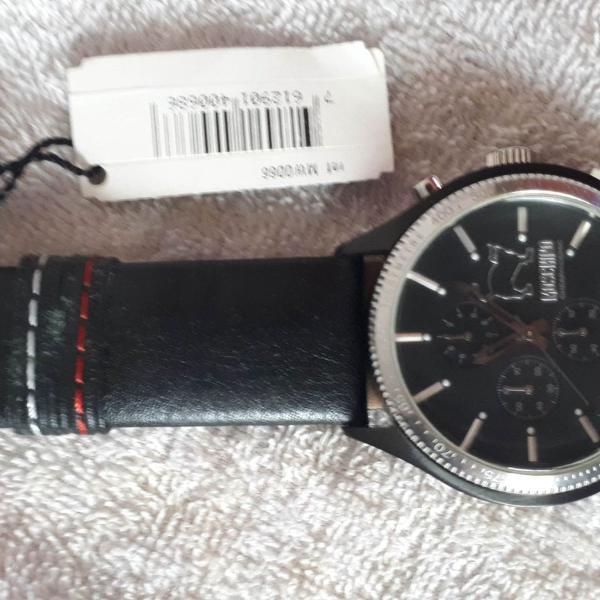 Relógio moschino let´s turn black