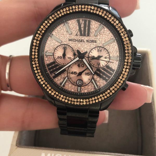 Relógio original michael kors mk com certificado