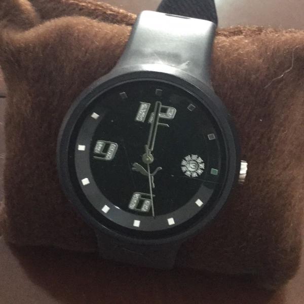Relógio puma preto