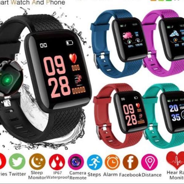 Relogio smart monitor cardíaco pressão arterial