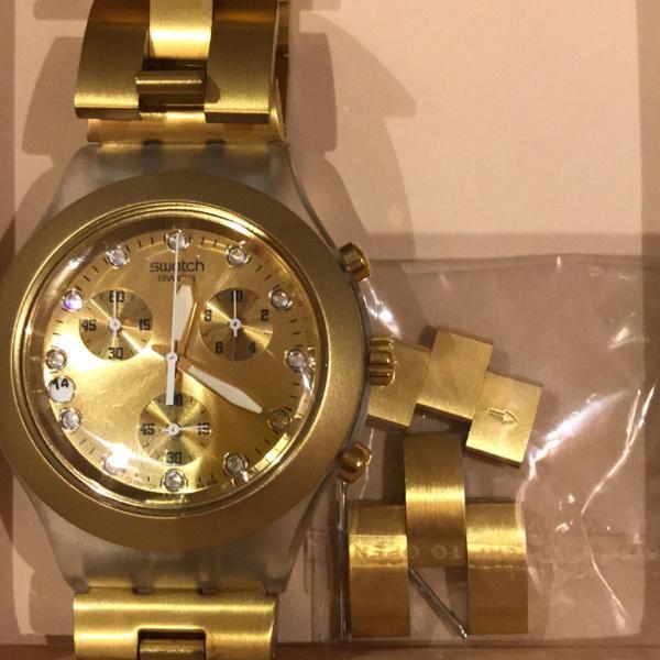 Swatch dourado