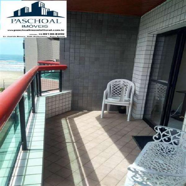 Apartamento 2 dormitórios com suite em praia grande