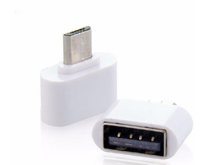 Adaptador micro usb otg pendrive smartphone & tablet