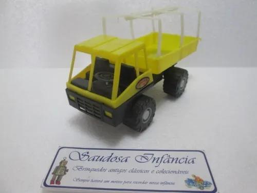 Antigo caminhão carga seca nillo c/lona plastico único