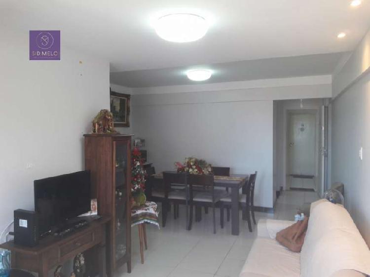 Apartamento padrão para venda em coroa do meio aracaju-se -