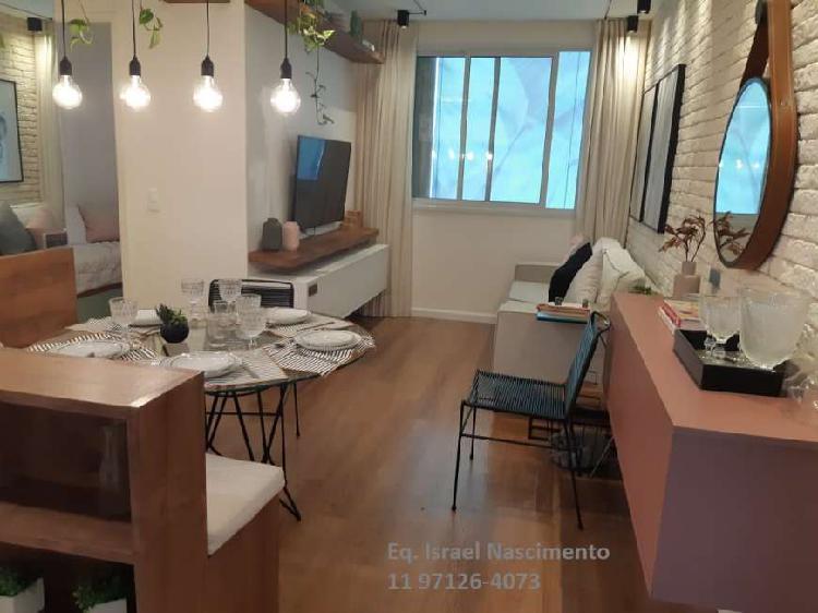Apartamento a venda de 2 dormitórios 1 vaga em santo amaro