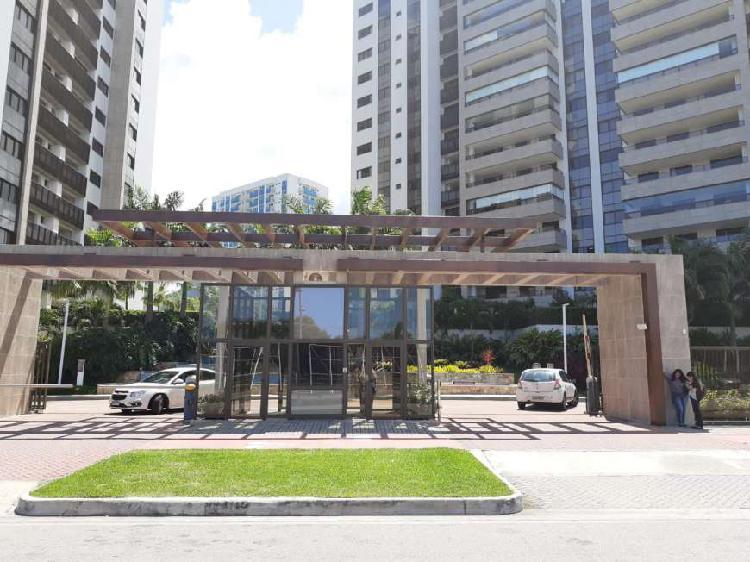 Barra da tijuca - ilha pura, 3 suítes + dep completa, 72
