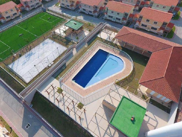 Campo grande ( guaratiba), casas duplex até 97 m², vaga,