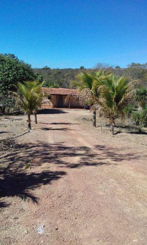 Chácara em taboquinha-go com 40.000m² beira rio aceito