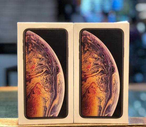 Iphone xs max novo lacrado garantia apple