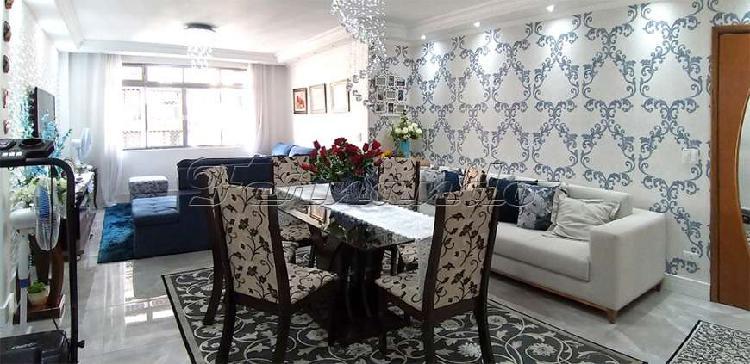 Lindo apartamento - 105 m² na melhor região de são paulo