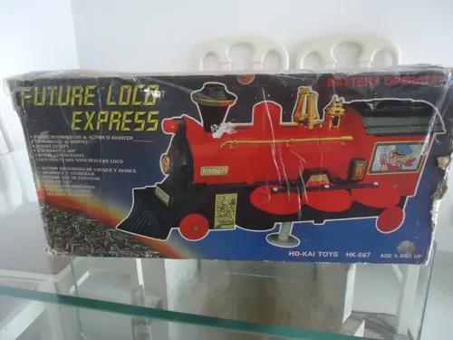 Maria fumaça - future loco express - brinquedo antigo