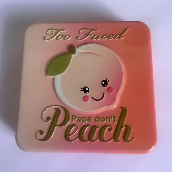 blush papa dont peach too faced