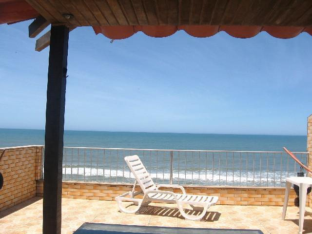 Cobertura duplex frente mar,área gourmet
