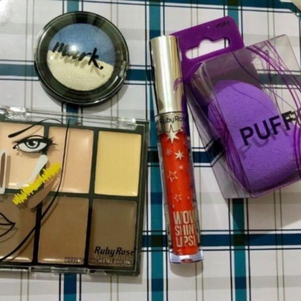Kit make com 4 produtos