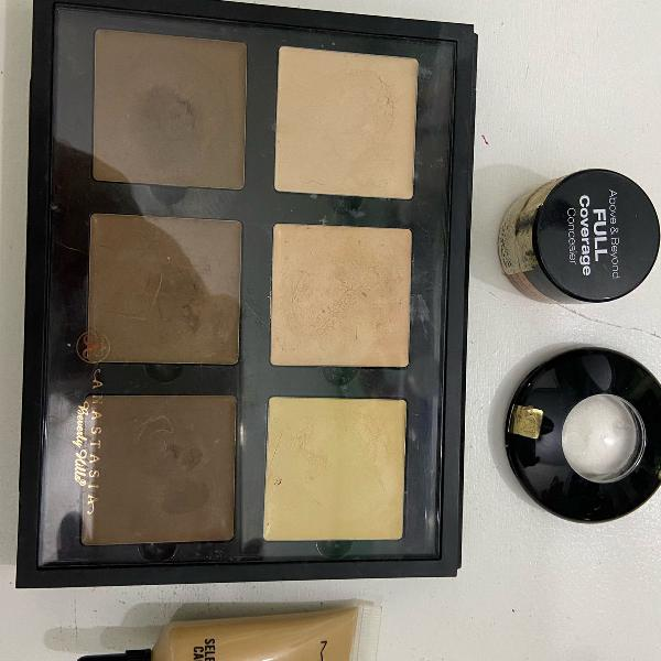 Kit make up ( anastasia, nyx, mac e lancôme)