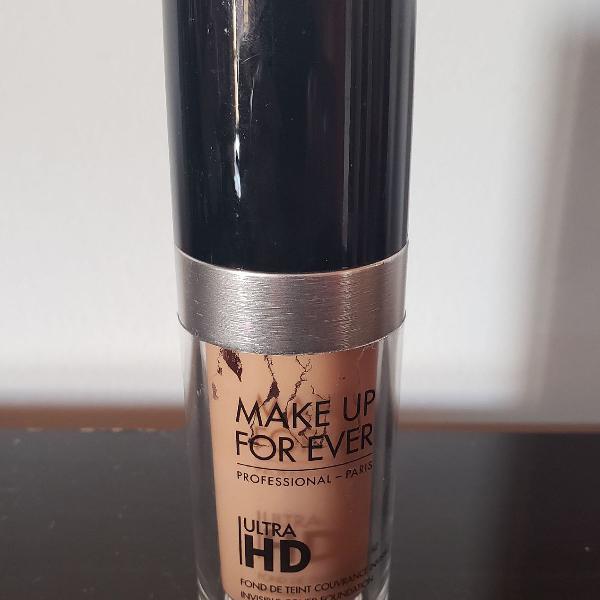 Make, base líquida make up forever, ultra hd