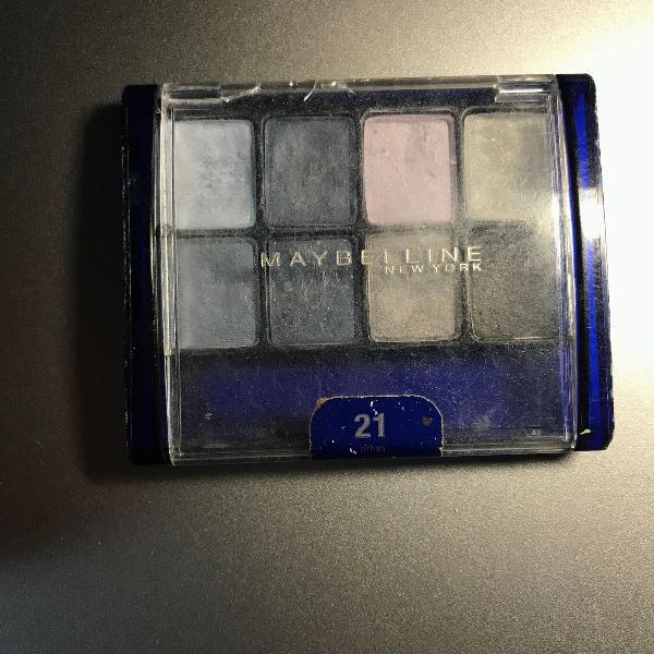 Paleta maybelline expertwear urban blue