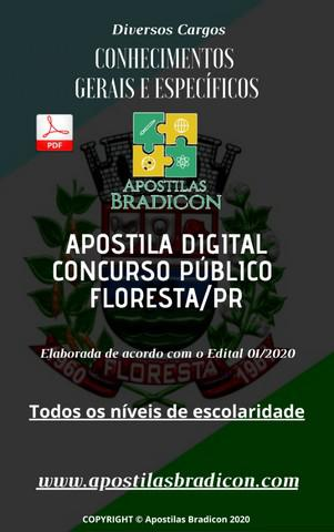 Apostila completa p/ o concurso de floresta