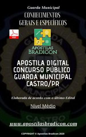 Apostila concurso guarda municipal