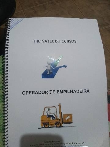 Apostila curso operador de empilhadeira